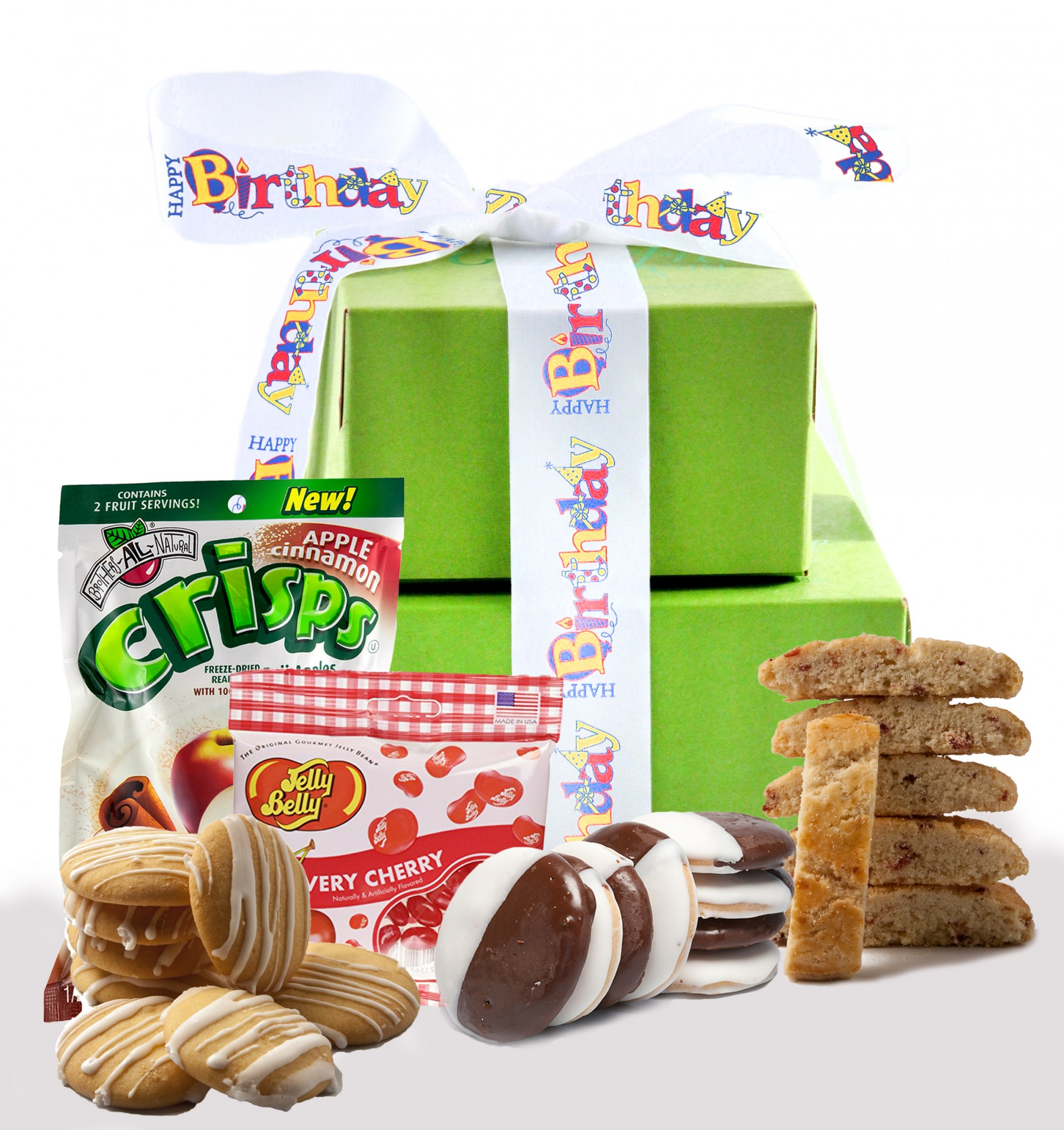 Happy Birthday Gift Tower By Gourmetgiftbaskets Com: It's Your Special Day! Happy Birthday Gift Tower
