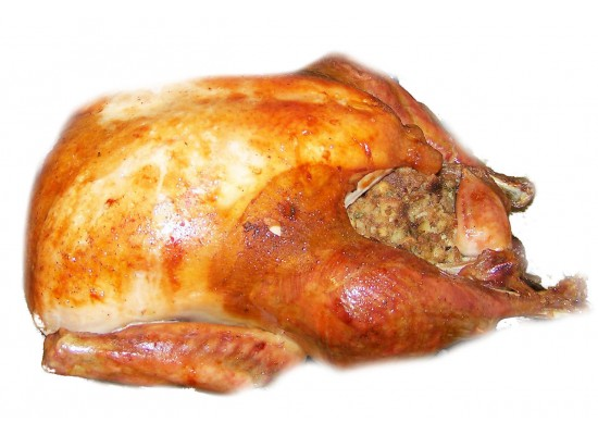 Plain Stuffed Turkey