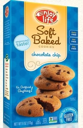 Enjoy Life GF Soft-Baked Cookies, Chocolate Chip (Case of 6)