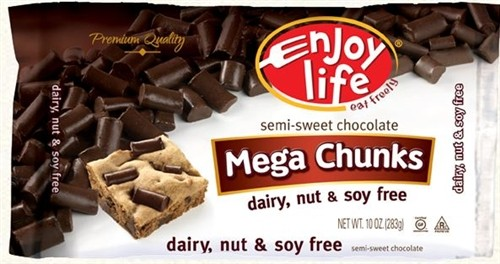 Enjoy Life Gluten Free Mega Chocolate Chunks, 10 Oz Bag (12 Pack)