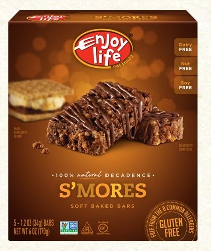 Enjoy Life GF Decadent Bars, Smores (6 Pack)