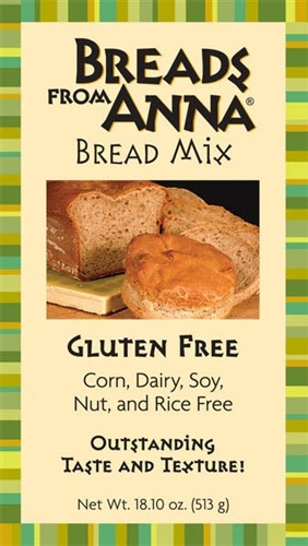 Bread From Anna GF Bread Mix, Corn & Dairy Free (6 Pack)
