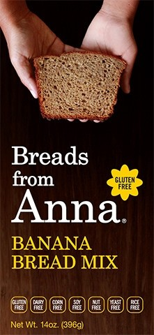 Breads From Anna GF Banana Bread Mix (6 Pack)