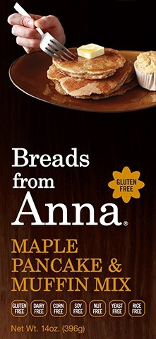 Breads From Anna GF Maple Pancake & Muffin Mix (6 Pack)