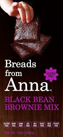 Breads From Anna GF Black Bean Brownie Mix (6 Pack)