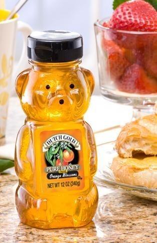 Dutch Gold Honey, Orange Blossom Bear