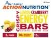 Action Nutrition Energy Bar: Crispy Lemon, 5 Pack