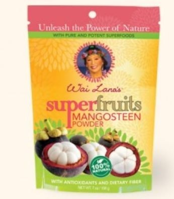 Wai Lana Dietary Supplements, Super Fruits Mangosteen Powder