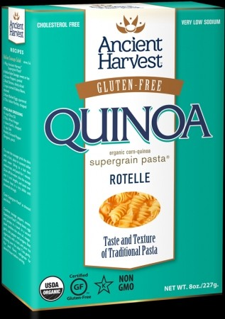 Ancient Harvest Quinoa Pasta, Rotelle[12 Packs]