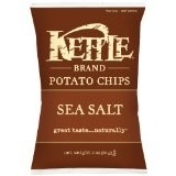 Kettle Foods Potato Chips, Sea Salt