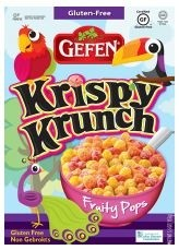 Gefen Gluten Free Krispy Krunch, Fruity Pops (Case of 12)