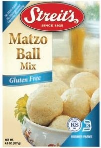 Streit's Gluten Free Matzo Ball Mix, 4.5 Oz. Boxes (Pack of 12)