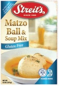Streit's Gluten Free Matzo Ball & Soup Mix, 4.5 Oz. Boxes (Pack of 12)