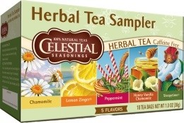 Celestial Seasonings Herbal Tea Sampler