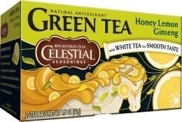 Honey Lemon Ginseng Green Tea