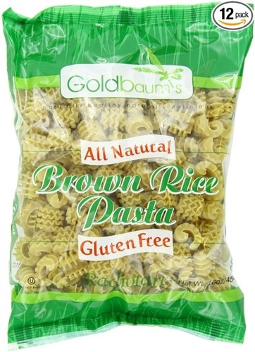 Goldbaum's Gluten Free Brown Rice Pasta, Radiatore