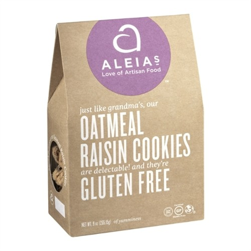 Gluten Free Oatmeal & Golden Raisin Cookies