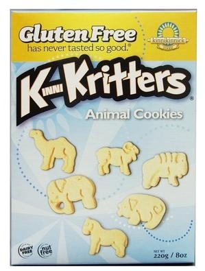 Kinnikinnick Foods KinniKritters GF Animal Cookies (Case of 6)