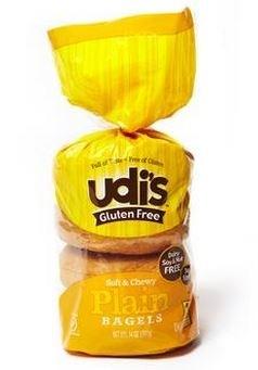Udi's Gluten Free Plain Bagels