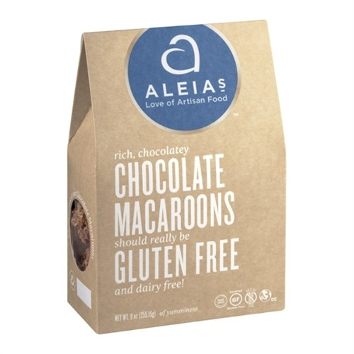 Aleia's Gluten Free Chocolate Coconut Macaroon Cookies