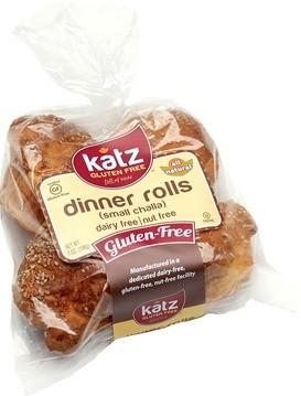 Katz Gluten Free Small Dinner Rolls