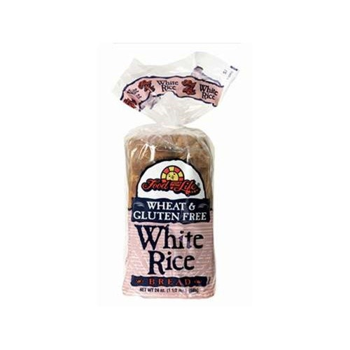 Food For Life - White Rice Bread, 24 Oz Loaf (Case of 6)