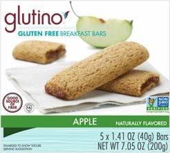 Gluten Free Apple Breakfast Bars