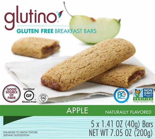 Gluten Free Apple Breakfast Bars [Case of 6]