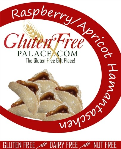 Gluten Free Palace Raspberry Hamantaschen (6 Pack)