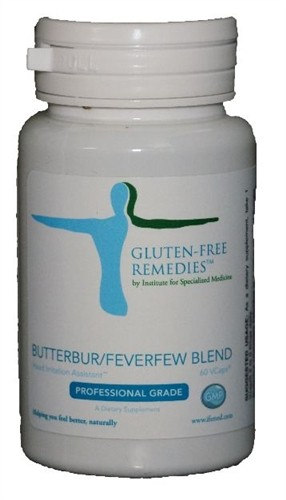 Gluten Free Remedies, Butterber/Feverfew Blend