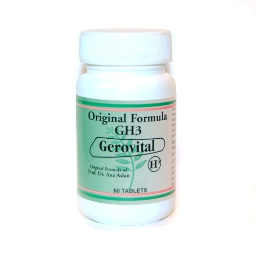 Gerovital GH3, Original Formula, 60 Tablets