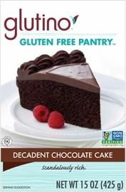 Gluten Free Pantry Decadent Chocolate Cake Mix (6 Pack)