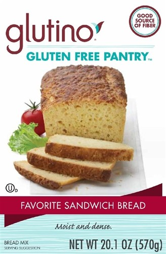 Gluten Free Pantry Favorite Sandwich Bread Mix (6 Pack)