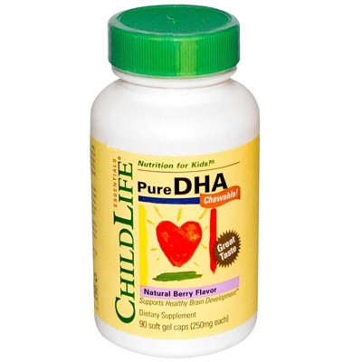 Childlife Pure DHA, 250mg, Berry