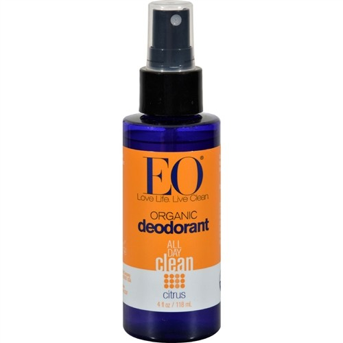 EO® Organic Deodorant Spray, Citrus - 4 fl oz