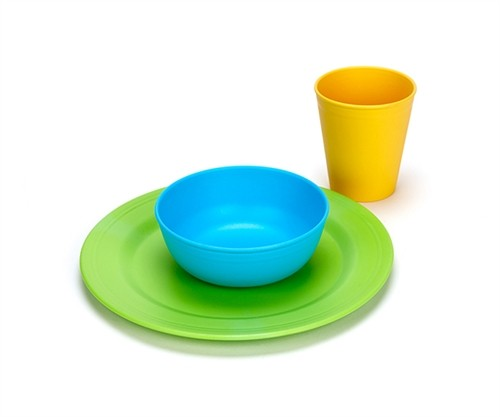Green Toys Green Eats Tabletop Set (Tumbler, Bowl, Plate)