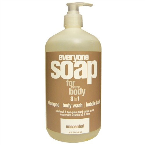 EO® Everyone 3-in-1 Botanical Soap, Unscented - 32 fl oz