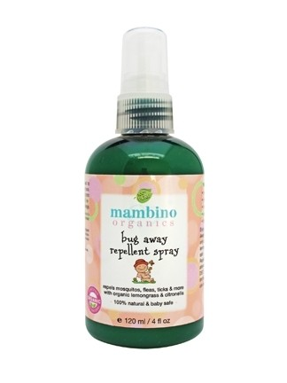 Mambino Organics Bug Away Insect Repellent Spray, 4 fl oz