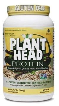 Genceutic Naturals Plant Head Protein - Vanilla - 1.65 lb