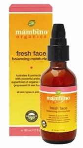 Mambino Organics Fresh Face Balancing Moisturizer, 2 fl oz
