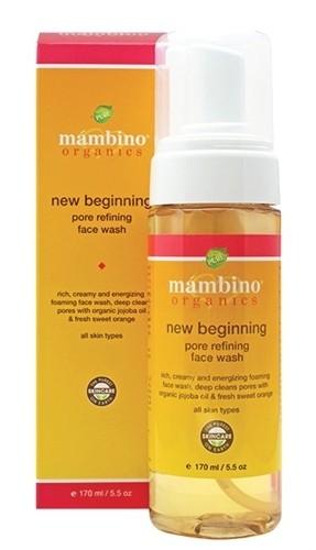 Mambino Organics New Beginning Pore Refining Face Wash, 5.5 fl oz
