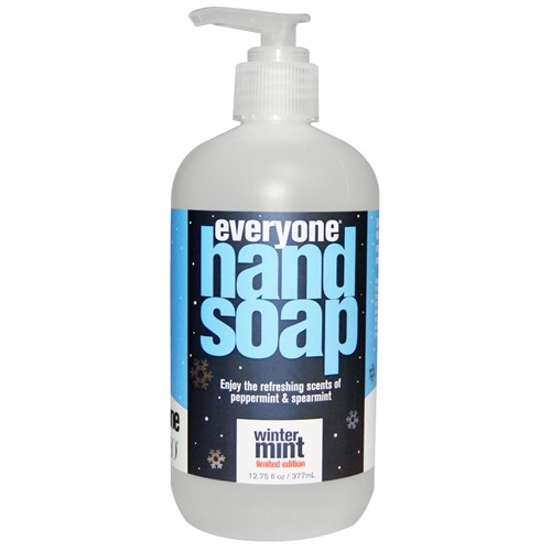 EO® Everyone Hand Soap, Winter Mint, Limited Edition, 12.75 fl oz (377 ml)