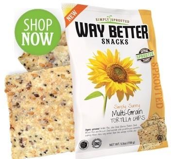 Way Better Snacks, Super Kosher Multigrain Tortilla Chips, snack size