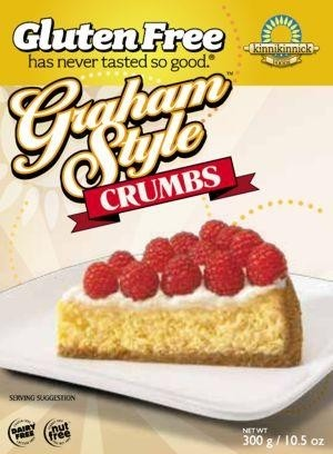 Kinnikinnick Graham Style Crumbs (Case of 6)