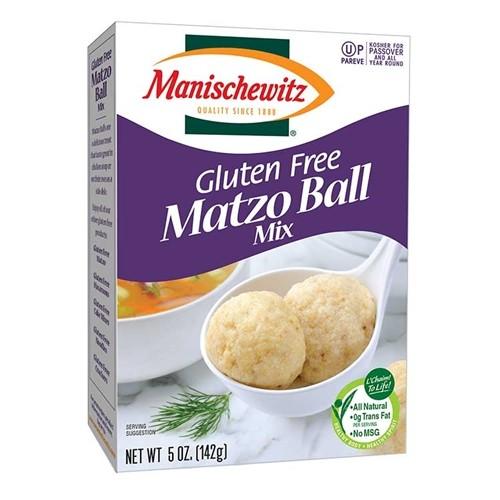 Manischewitz Gluten Free Matzo Ball Mix, 5 Oz. Box (Pack of 12)