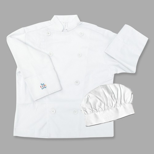 The Little Cook's Chef's Jacket & Hat Set