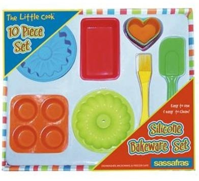 The Little Cook Silicone Bakeware Set