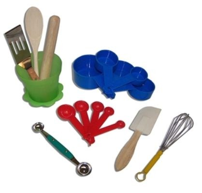 The Little Cook, Kitchen Tools With Herb Pot Container