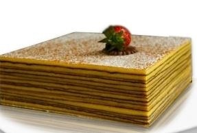 Euforia All Natural Gluten Free Thousand - Layer Whole Cake, Petite