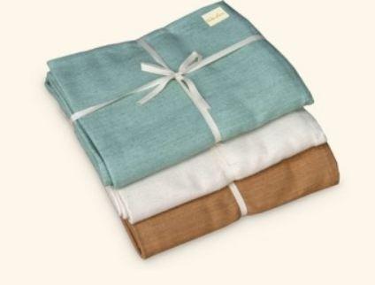 Wai Lana, Cozy Cotton Yoga Blanket, Green